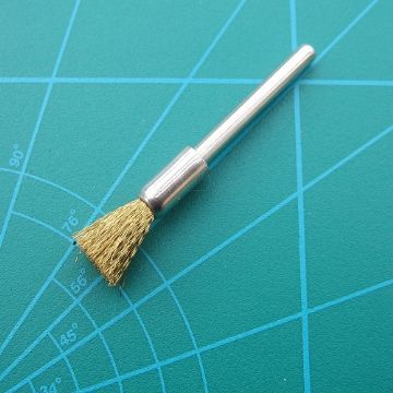 3 End Brass brushes